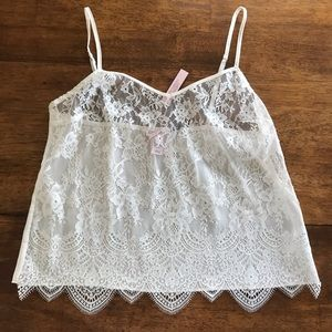Victoria secret lace cami